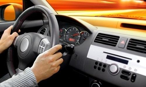 На время лечения необходимо воздержаться от вождения автомобиля