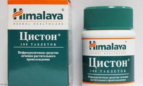 Препарат можно заменить Цистоном