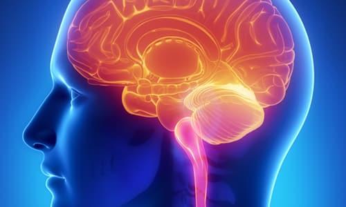 Лизина эсцинат применяют при выявлении отека головного мозга, который появился после операции или травмы головы