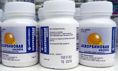 Риск развития побочных реакций возрастает при параллельном использовании аскорбиновой кислоты