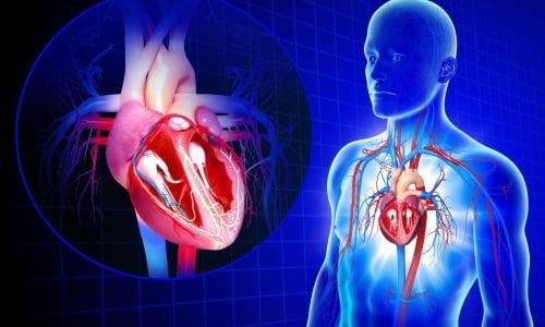 Таблетки для перорального применения назначают при хронической форме сердечной дисфункции