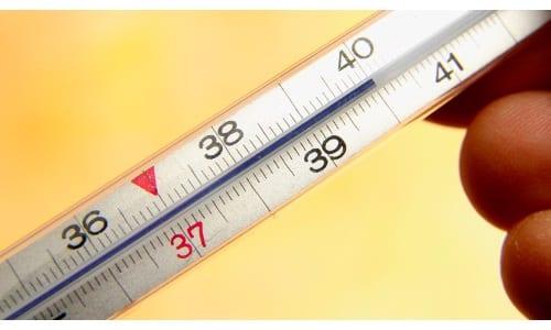 При повышении температуры препарат проявляет высокую эффективность