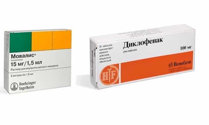 Мовалис или Диклофенак что лучше и для чего применяются эти препараты