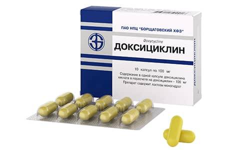 Доксициклин применяется с целью лечения различных заболеваний инфекционного характера