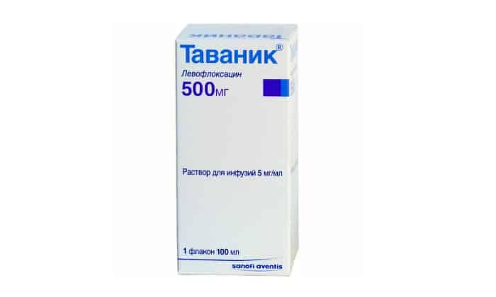Инструкция по применению таваник 500 мг