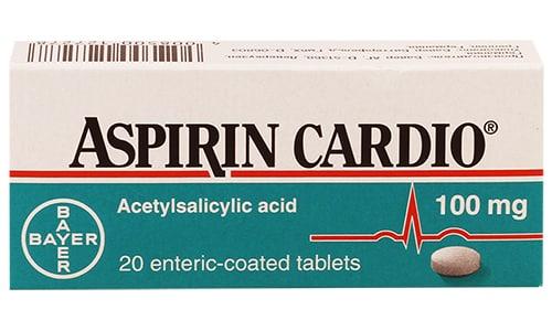В Аспирине кардио важным дополнением является кишечнорастворимая оболочка таблетки и ее маленькая дозировка (100 мг)