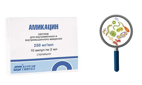 Препарат оказывает на бактериальную флору бактерицидный (токсичный) эффект