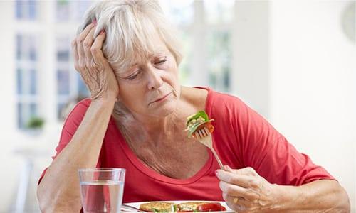 У пациентов, получавших средство, часто наблюдалось снижение аппетита