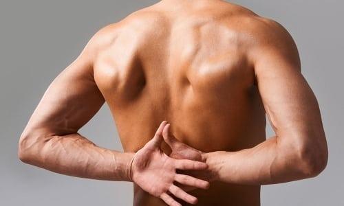 При введении Тиепенема могут появляться боли в спине
