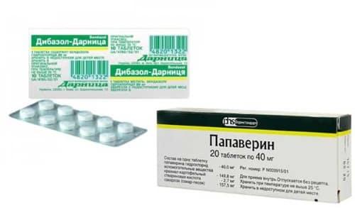 Дибазол и Папаверин часто назначают для экстренного оказания помощи при гипертоническом кризе