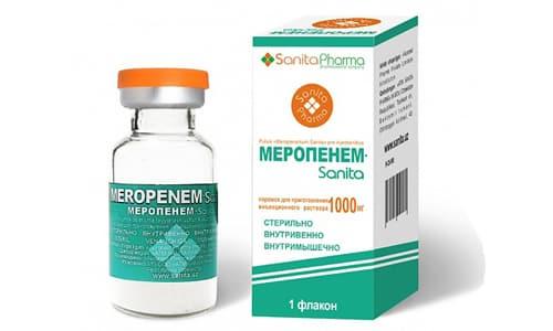 Меропенем эффективен в отношении большого количества патогенных микроорганизмов, поэтому может применяться без проведения бактериологических исследований