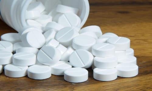 Препарат выпускается в виде таблеток круглой формы, покрытых кишечнорастворимой пленкой белого цвета