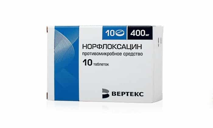 Применение препарата Норфлоксацин при цистите