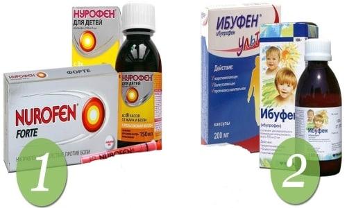 Аналоги препарата Нурофен и Ибуфен