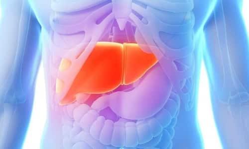 Обширные поражения печени должны становиться поводом для невозможности выписывания этого лекарства