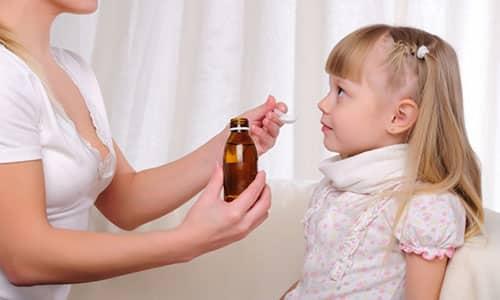 Дозировка препарата рассчитывается исходя из веса ребенка
