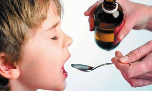Детям необходимо давать суспензию