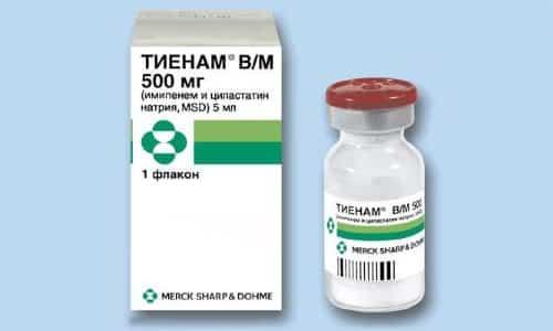 Препарат Тиенам позволяет бороться с бактериями, которые устойчивы к иным группам антибиотиков
